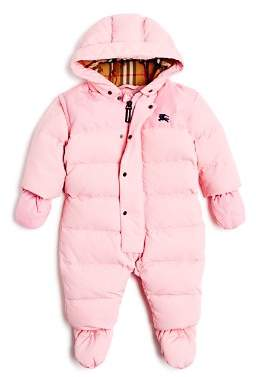 Burberry Girls' Alnswick Down Puffer Snow Suit - Baby