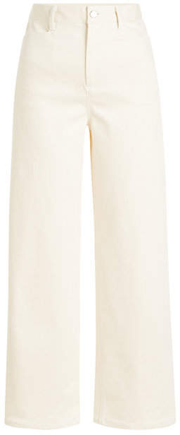 Rosetta Getty Cropped Straight Jeans