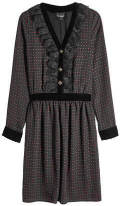 The Kooples Dress with Lace and Velvet