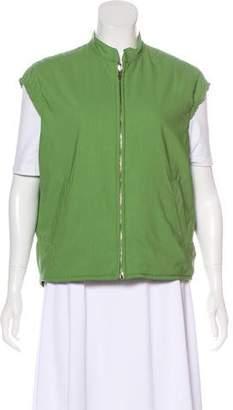 Loro Piana Wool Zip-Up Vest