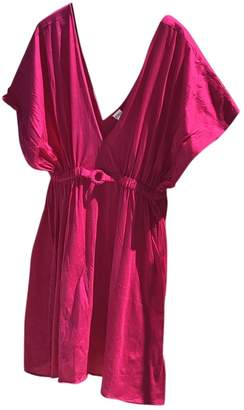 Eres Pink Cotton Dress for Women