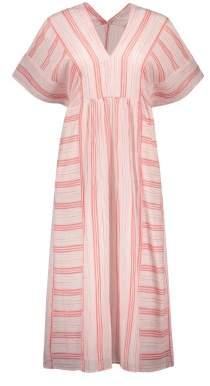 Masscob Sale - Striped Maxi Dress