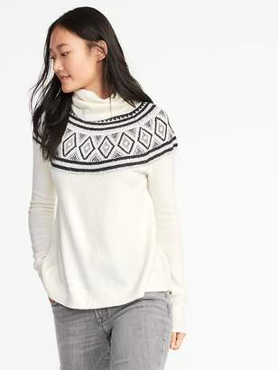 Old Navy Brushed-Knit Turtleneck Sweater for Women