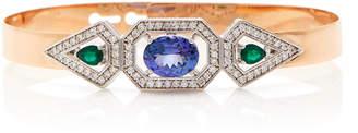 Melis Goral Harmony 18K Rose Gold Multi-Stone Bracelet