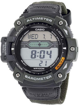 Casio Twin Sensor Mens Altimeter/Barometer Digital Sport Watch SGW300HB-3AVCF
