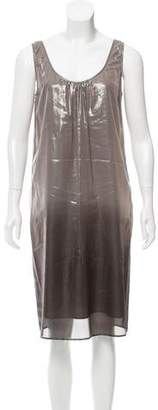 Burberry Metallic Ombré Dress