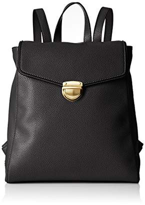 Armani Exchange A|X Pebble Faux Leather Backpack