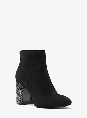 Michael Kors Cher Suede Ankle Boot