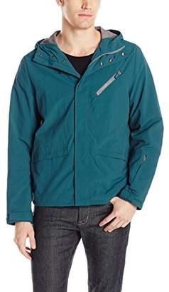 Kenneth Cole Reaction Men's Lightweight Crinkle Nylon Jacket