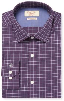 Original Penguin Men's Check Cotton Dress Shirt