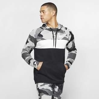Nike Men's Fleece Camo Training Hoodie Dri-FIT