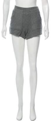 Alexander Wang Mid-Rise Knit Shorts