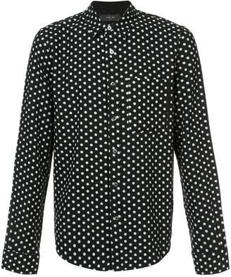 Amiri polka dot print shirt