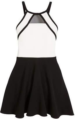 Sally Miller Chelsea Two-Tone Sleeveless Dress, Size S-XL