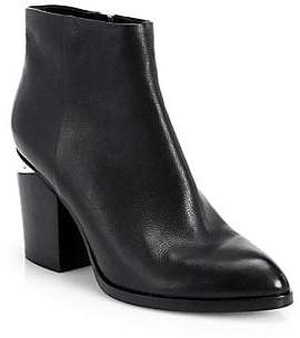 Alexander Wang Women's Gabi Leather Block Heel Booties