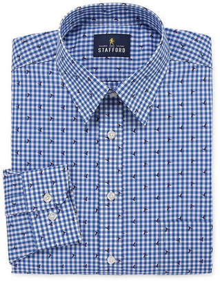 STAFFORD Stafford Super Shirt Dress Shirt Big and Tall with Comfort Stretch, Stain Repel and Wrinkle Free