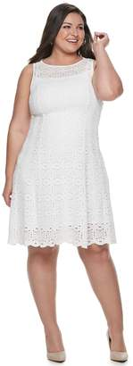 Apt. 9 Women's Stretch Lace Fit and Flare Dress