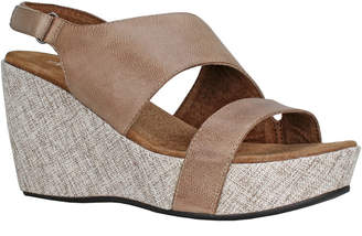 Antelope 798 Leather Wedge Slingback Sandal