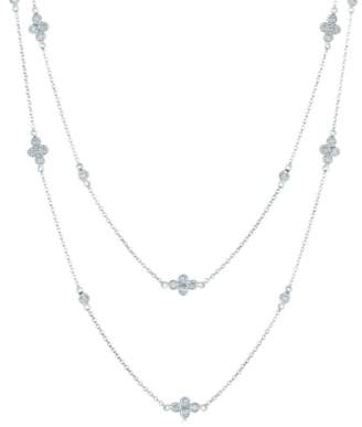 Kwiat 'Diamond Strings' Long Diamond Station Necklace