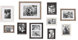 DAY Birger et Mikkelsen Gracie Oaks 10 Piece Mcclaskey Gallery Picture Frame Set
