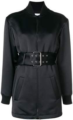 Versus belted bomber jacket