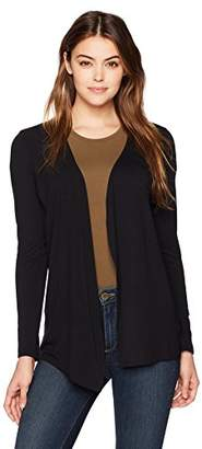 Majestic Filatures Women's Viscose Elastane Open Cardigan