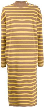 Stella McCartney striped knitted dress