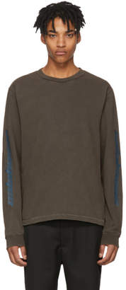 Yeezy Grey Long Sleeve Calabasas T-Shirt