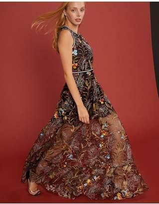Cynthia Rowley Lorelei Embroidered Mesh Dress