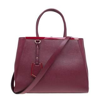 Fendi 2Jours leather tote