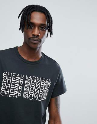 Cheap Monday Unity Repeat Logo T-Shirt