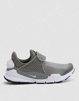 Nike Sock Dart in Dark Stucco/White/Black