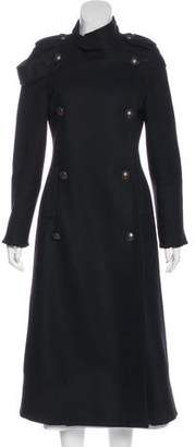 Cacharel Wool Double-Breasted Coat