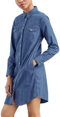 Levi's Levis Women's Ultimate Western Jean Shirtdress