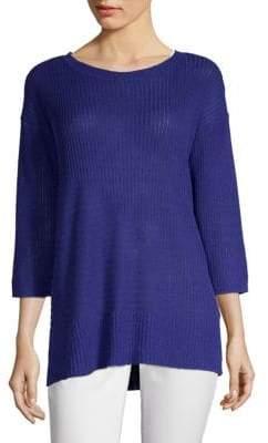 Eileen Fisher Organic Ribbed Linen Tunic
