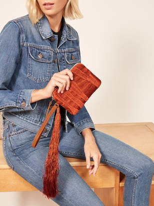 Reformation Mercado Global X Ref Therese Clutch
