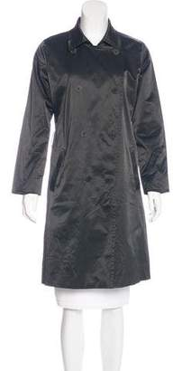 Eileen Fisher Knee-Length Double-Breasted Coat