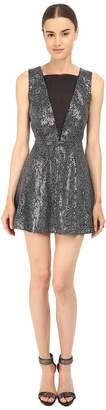 McQ Deep V-Neck Dress Women's Dress