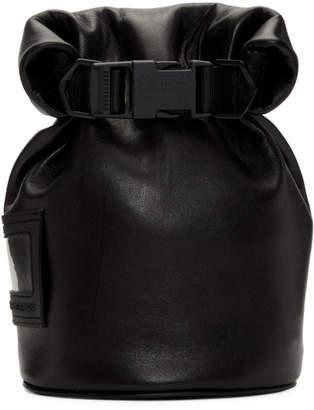 Maison Margiela (メゾン マルジェラ) - Maison Margiela ブラック スモール ショルダー バッグ