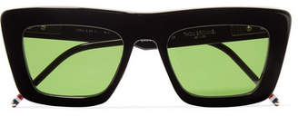 Thom Browne Square-frame Acetate Sunglasses - Black