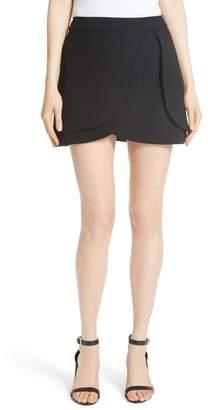 Alice + Olivia Nicolina Layered Tulip Miniskirt