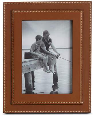 "Ralph Lauren Home Brennan Picture Frame, Saddle, 5"" x 7"""