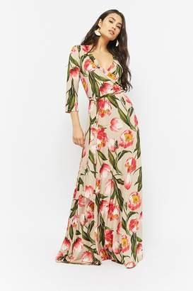 Forever 21 Tulip Print Maxi Dress