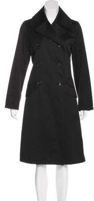 Chaiken Double-Breasted Long Coat