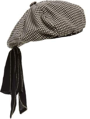 New Friends Colony Houndstooth Studded Beret