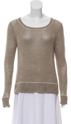 360 Sweater Knit Scoop Neck Sweater