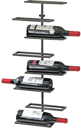 Wine Enthusiast Iron Wall-Mounted Wine Rack