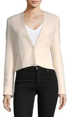 Lanvin Long-Sleeve Cropped Blazer