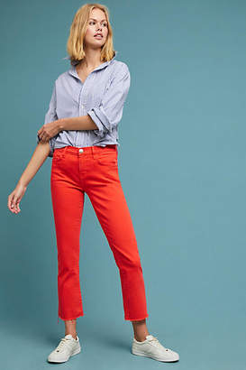 Current/Elliott The Kick High-Rise Cropped Flare Jeans