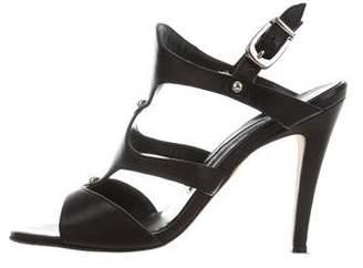 Manolo Blahnik Slingback Cutout Sandals